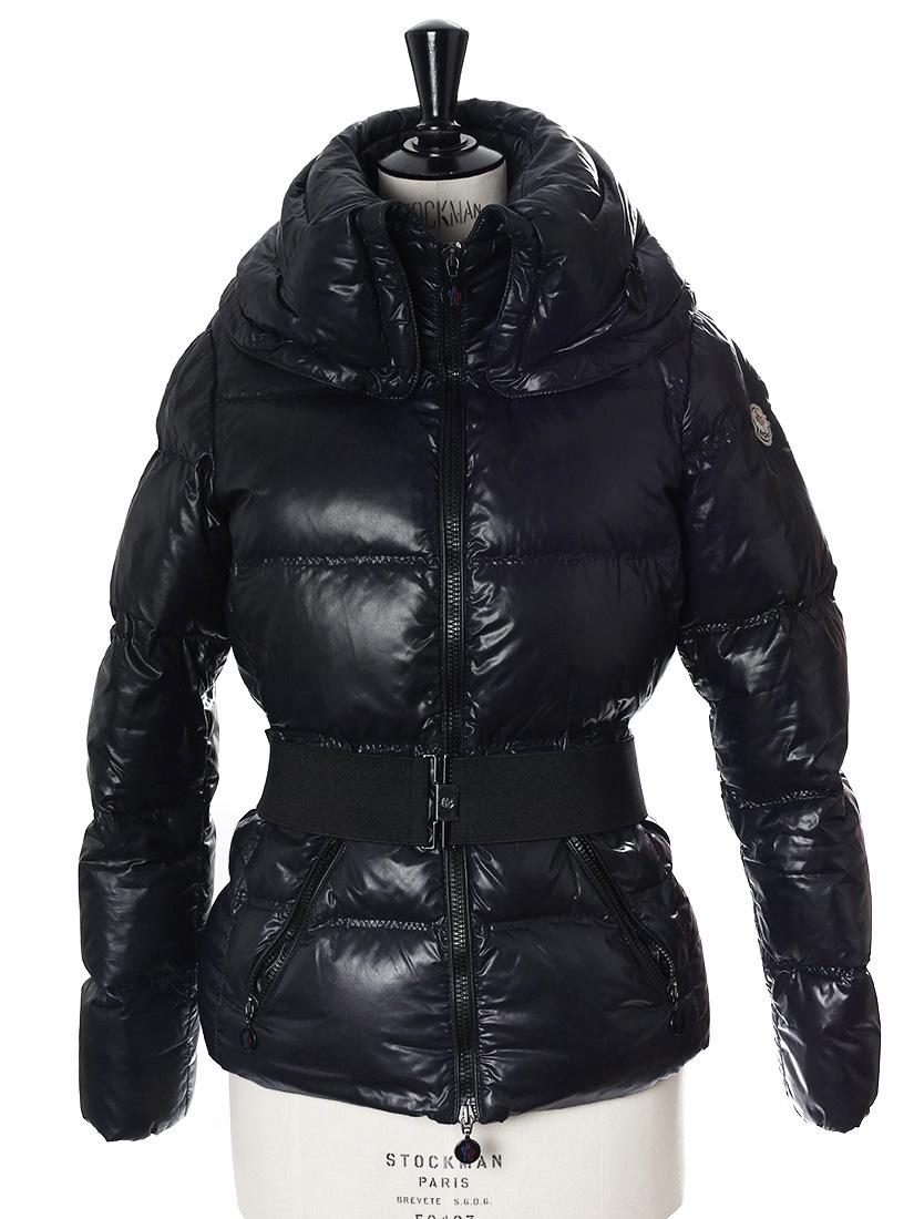 9ea75fee3d5c Veste doudoune de ski Aliso bleu nuit avec ceinture Px boutique €750 Taille  1 ...