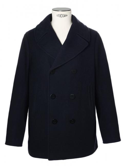 louise paris polo ralph lauren manteau caban homme en laine melton m lang e bleu marine prix. Black Bedroom Furniture Sets. Home Design Ideas