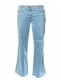 CHLOE Light washed blue wide leg flared jeans Retail price €360 Size 42