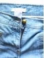 Jean seventies flared en coton bleu clair Px boutique 360€ Taille 42