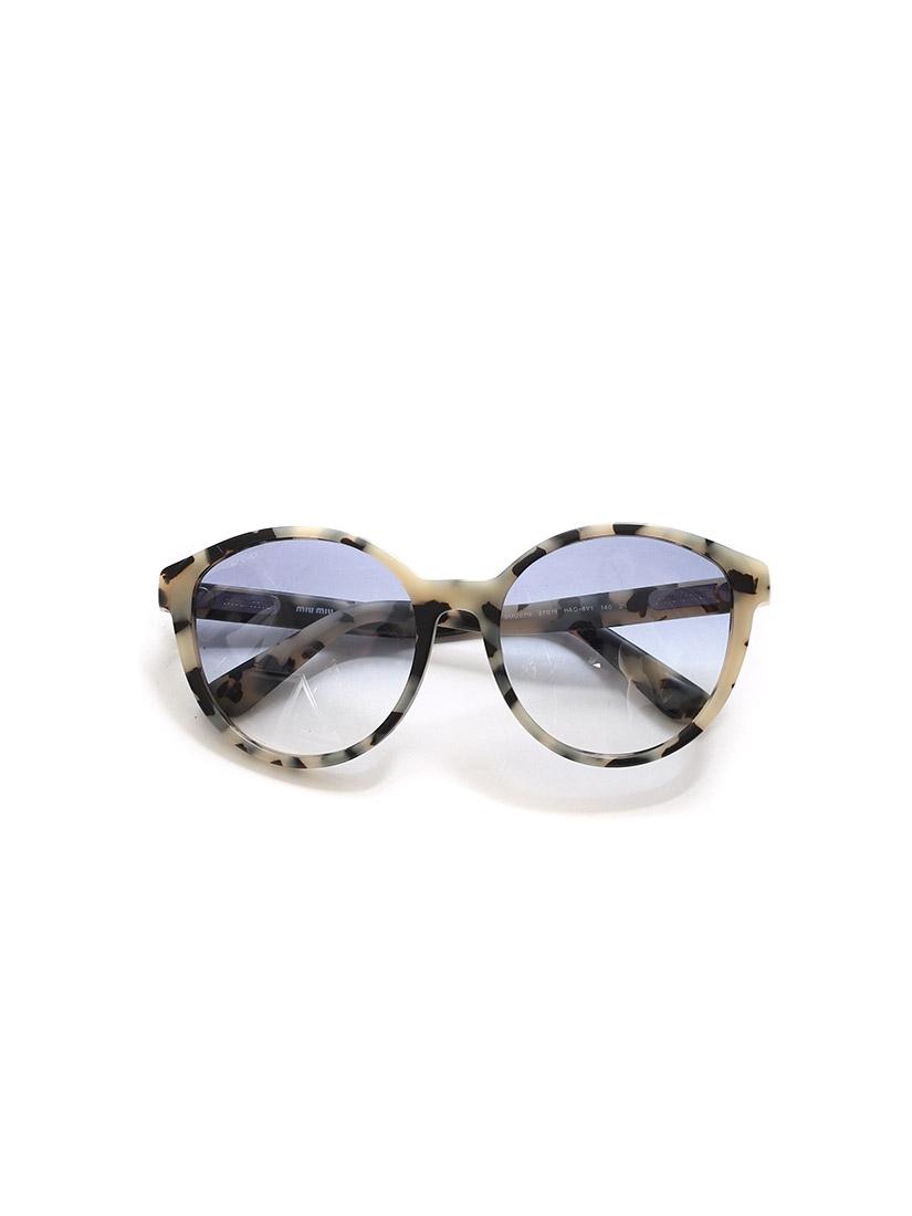 ... Lunettes de soleil œil-de-chat monture acétate écailles noir et beige  verre dégradé ... 0bc4fdee1890