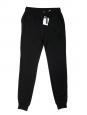 Pantalon de jogging en coton et modal noir NEUF Px boutique 235€ Taille XS