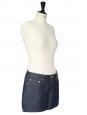 Mini jupe en jean bleu brut Px boutique 140€ Taille 36