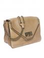 Sac SALLY en cuir grainé beige camel Px boutique 1500€