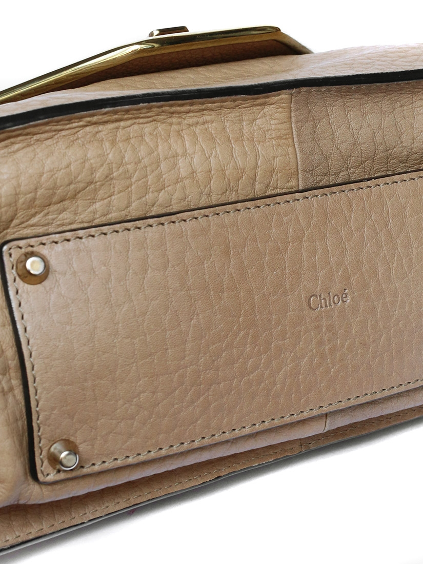 chloe shoulder bag brown