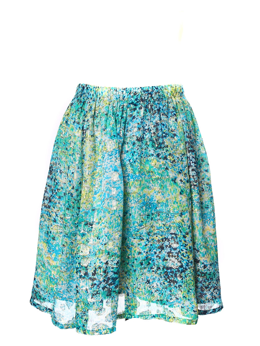 Blue Green Skirt 119