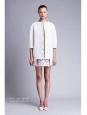 Veste manteau oversize en sergé de coton blanc écru Px boutique 1100€ Taille 34/36