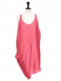 MAGENTA Fuchsia pink racer back dress Retail price €240 Size 36