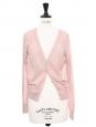 Pink cotton long sleeved cardigan Retail price €160 Size 36