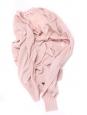 Gilet cardigan fin manches longues en coton rose Px boutique 160€ Taille 36
