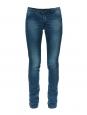 Jean slim fit en denim bleu foncé effet délavé Px boutique 200€ Taille XS
