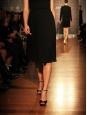 Sandales Macy à talon et bride cheville en daim noir Px boutique 580€ Taille 37