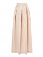 Jupe longue en jacquard rose poudre et doré motif scallop NEUVE Px boutique 535€ Taille 34
