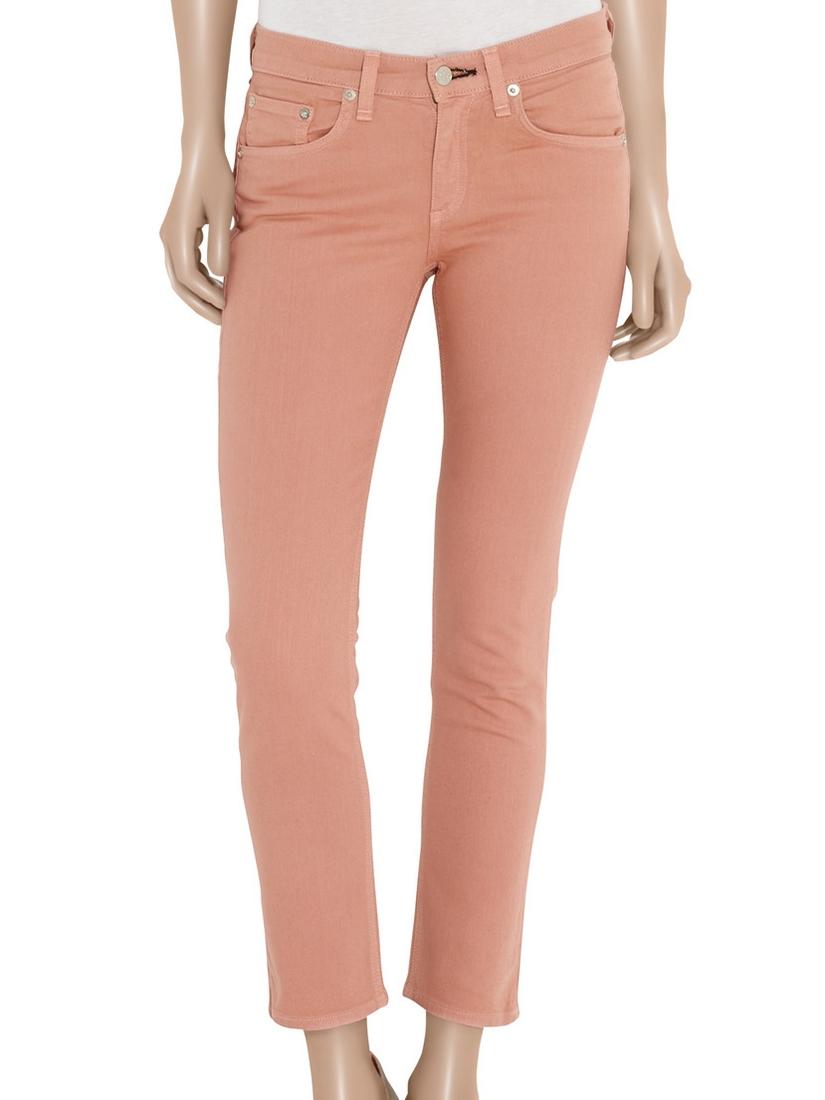 ... Jean skinny slim fit en coton stretch rose pêche Px boutique 160€ Taille  34  ... 1053d590be69