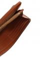 CHLOE Portefeuille long Marcie en cuir grainé marron cognac Px boutique 360€