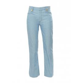 Jean taille haute bleu ciel coupe droite NEUF Px boutique 500€ Taille 36