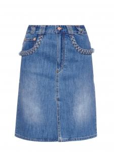 Jupe en jean détail tressé NEUVE Px boutique 250€ Taille 36
