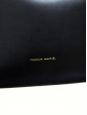 Sac seau MINI en cuir végétal noir intérieur beige NEUF Px boutique 515€