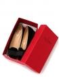 Ballerines tuxedo en velours et noeud satin noir Px boutique 800€ NEUVES Taille 38