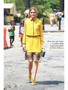 Chemise manches longues Signature en soie jaune ambre Px boutique 220€  Taille 38 4a3f159c7c2