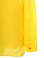 Signature amber yellow silk shirt Retail price €220 Size 38