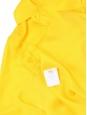 Chemise manches longues Signature en soie jaune ambre Px boutique 220€ Taille 38