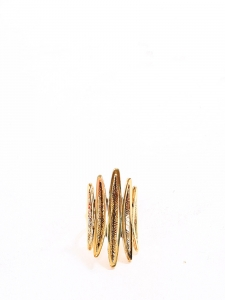 Gold-plated ethnic ring Retail price €180 Size 54