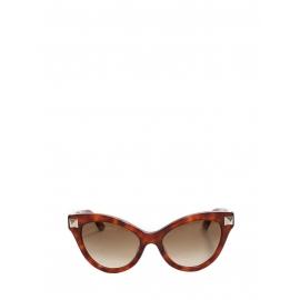 Lunettes de soleil Rockstud cat eye Havana Px boutique €280