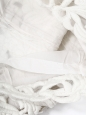 Robe bustier Couture en broderie épaisse ajourée blanche Px boutique 2360€ Taille 36/38