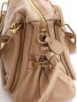 Sac à bandoulière PARATY Medium en cuir beige rosé NEUF Px boutique 1450€