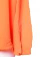 Blouse ESTELLE en soie fine orange mandarine Px boutique 510€ Taille 38