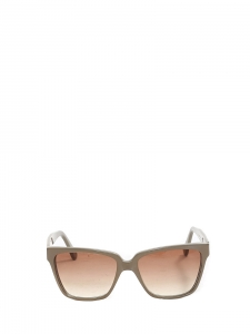 Taupe grey acetate frame sunglasses Retail price €250