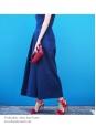 Sandales Wild Thing à franges et talons fins en suede rouge NEUVES Px boutique €550 Taille 38,5