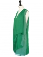 Menthe green fluid crepe Mallory dress Retail price €270 Size 34/36