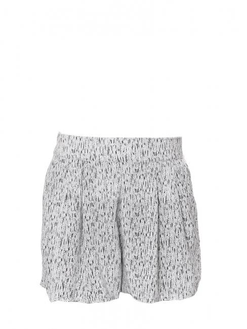Short taille élastique noir et blanc Taille 38