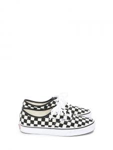 Baskets Checkerboard Authentic en toile damier noir et blanc Taille 38