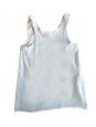 Débardeur en crêpe de soie bleu ciel Px boutique 390€ Taille 36