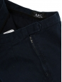 Navy blue cotton shorts Retail price €100 Size S/M