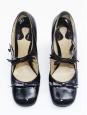 Babies en cuir verni noir Défilé Eté 2007 Px boutique 550€ T 39