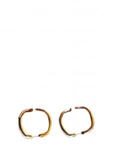 SANDRA Golden brass earrings NEW Retail price €80