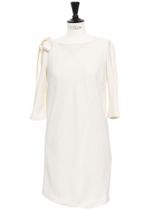 DELPHINE MANIVET x LA REDOUTE Cream open back dress Size M
