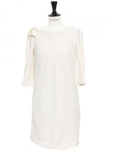 Robe de mariée dos nu crème DELPHINE MANIVET x LA REDOUTE Taille 38