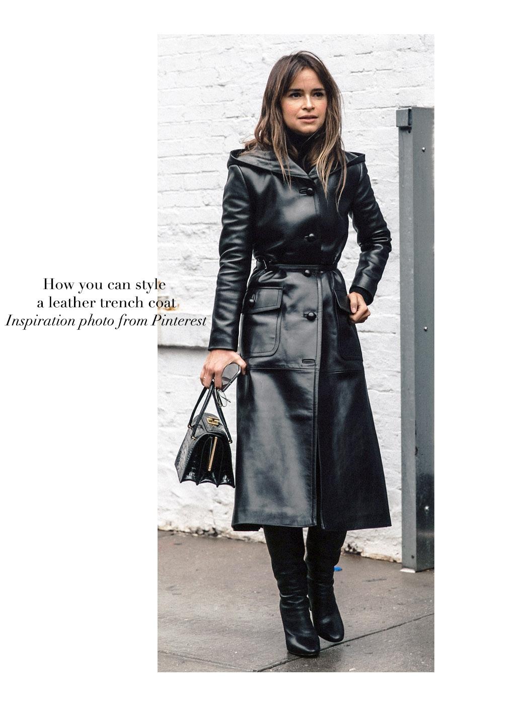 80d9c228539e Manteau cuir femme long