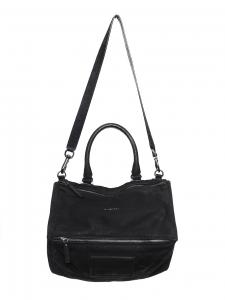 Large black calfskin leather PANDORA bag Retail price €1600