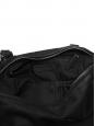 Sac PANDORA en veau velours noir profond Grand modèle Px boutique 1600€
