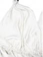 Débardeur dos nu en soie blanc ivoire et cristaux Swarovski Px boutique 800€ Taille 36