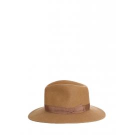 Chapeau Borsalino en feutre de laine marron noisette NEUF Prix boutique 280€ Taille 56