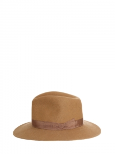 Hazelnut brown fur felt Borsalino hat NEW Retail price €280 Size 56