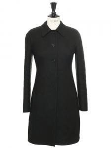 Manteau cintré en laine vert impérial Prix boutique 1500€ Taille 34/36