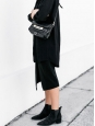 JENSEN Black suede leather Chelsea ankle boots Retail price €450 Size 37